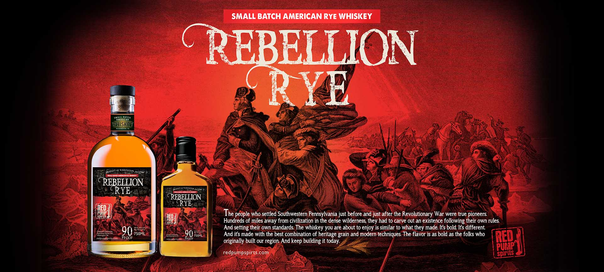 Rebellion Rye Whiskey Label