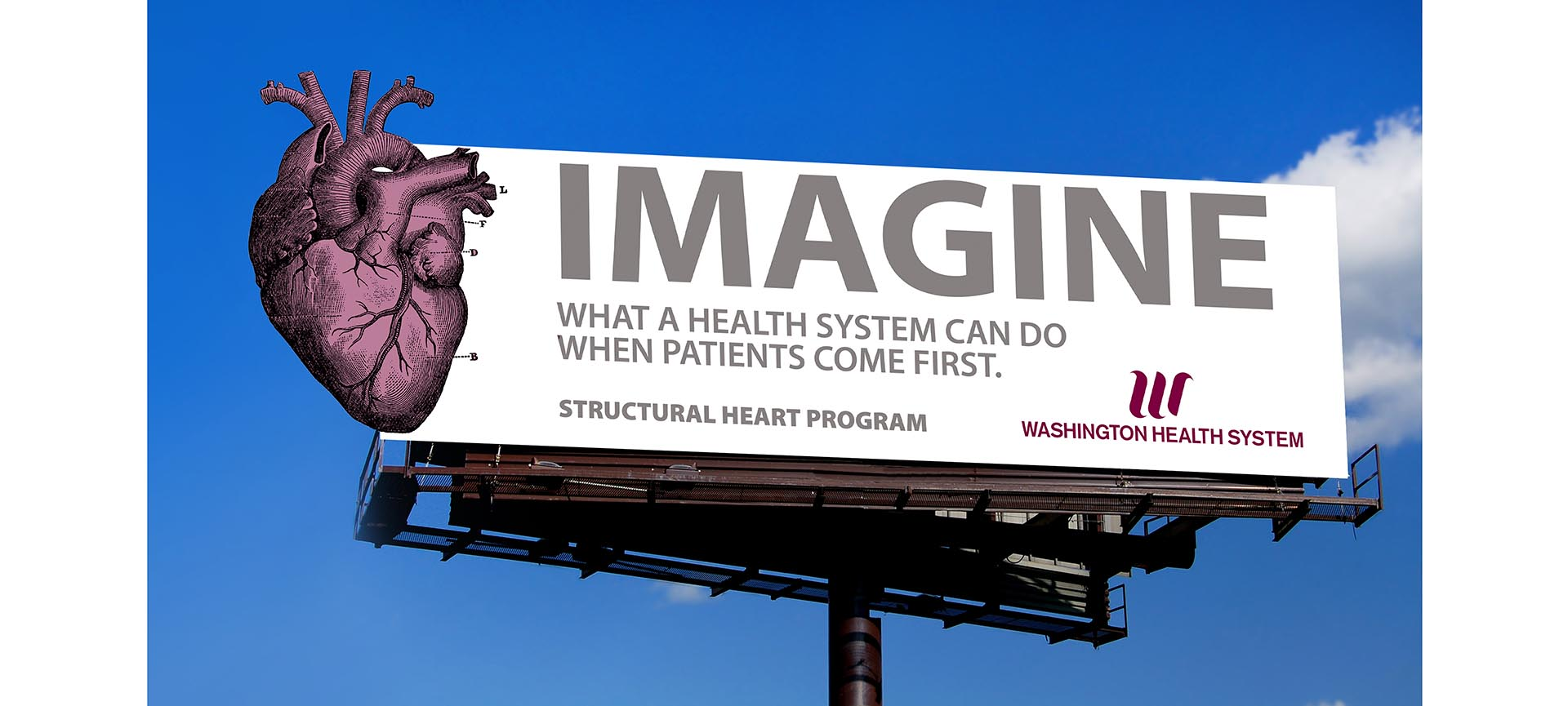 Washington Hospital Billboard
